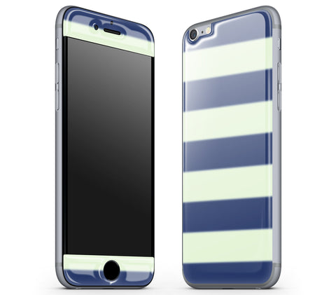 Nautical Striped <br>iPhone 6/6s - Glow Gel Skin
