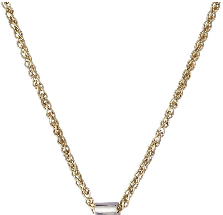 Women's Italian Yellow Gold-Bonded Sterling Silver Chain Necklace, 16""