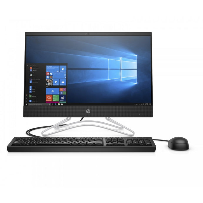 HP All in One 200 G3 i5-8250U,3.4 GHz, 4GB RAM DDR4 ,1TB HDD, 21.5 Inch FHD Monitor, Keyboard-Mouse,Win 10 pro - shopperskartuae