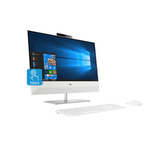 HP Pavilion All-in-One 24-xa0000ne I7-8700/8GB DDR4/1TBHDD/24 Touch/Win 10 Home/Snowflake white - shopperskartuae