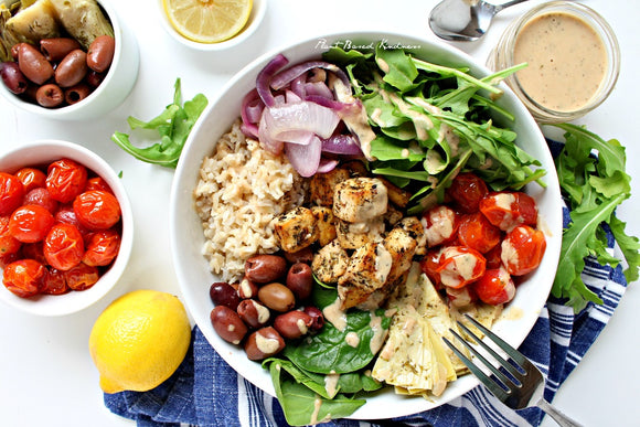 Greek Tofu Bowl