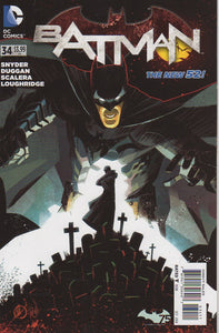 Batman New 52 (2011) 34 VF