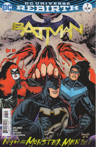 Batman 2016 Rebirth 7 VF