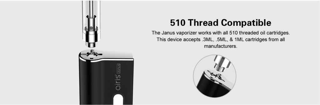 Airistech Janus 2-in-1 Vape Pen Battery compatible