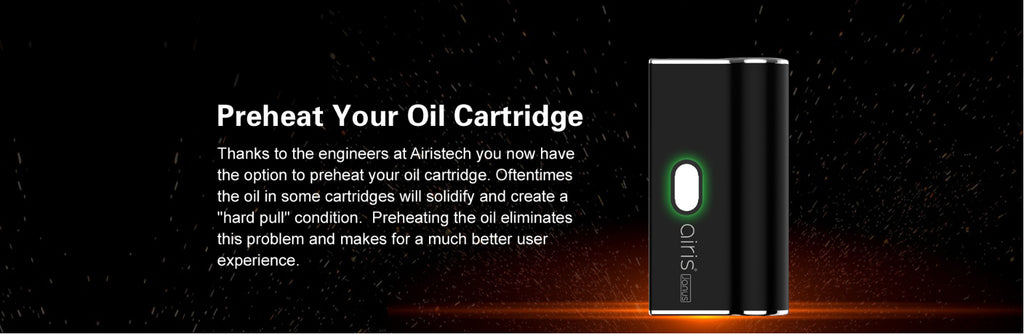 Airistech Janus 2-in-1 Vape Pen Battery Oil Cartridge
