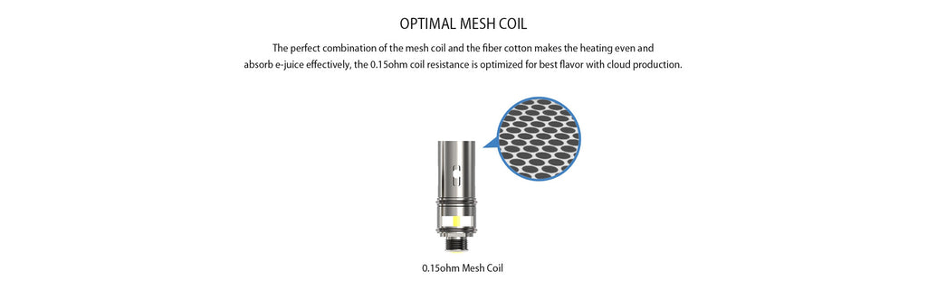 IJOY Mystique Mesh Tank Optimal Mesh Coil