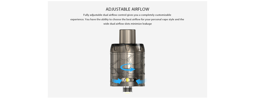 IJOY Mystique Mesh Tank Adjustable Airflow