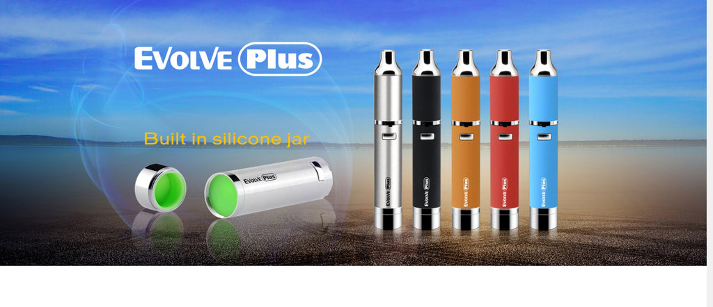 Yocan Evolve Plus Wax Vaperizer 1100mAh Colors Available
