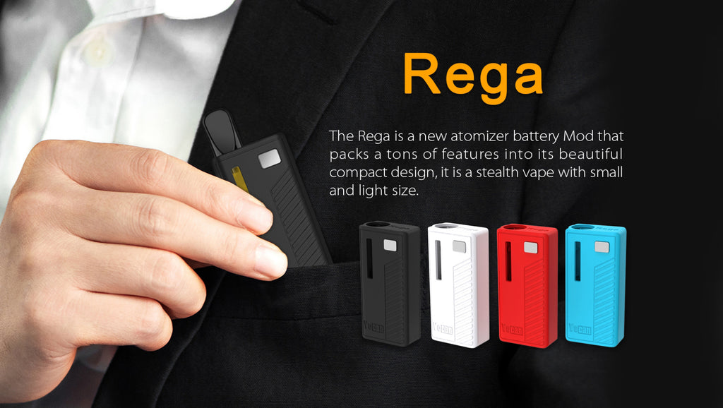Yocan Rega VV Box Mod Design & Colors Available
