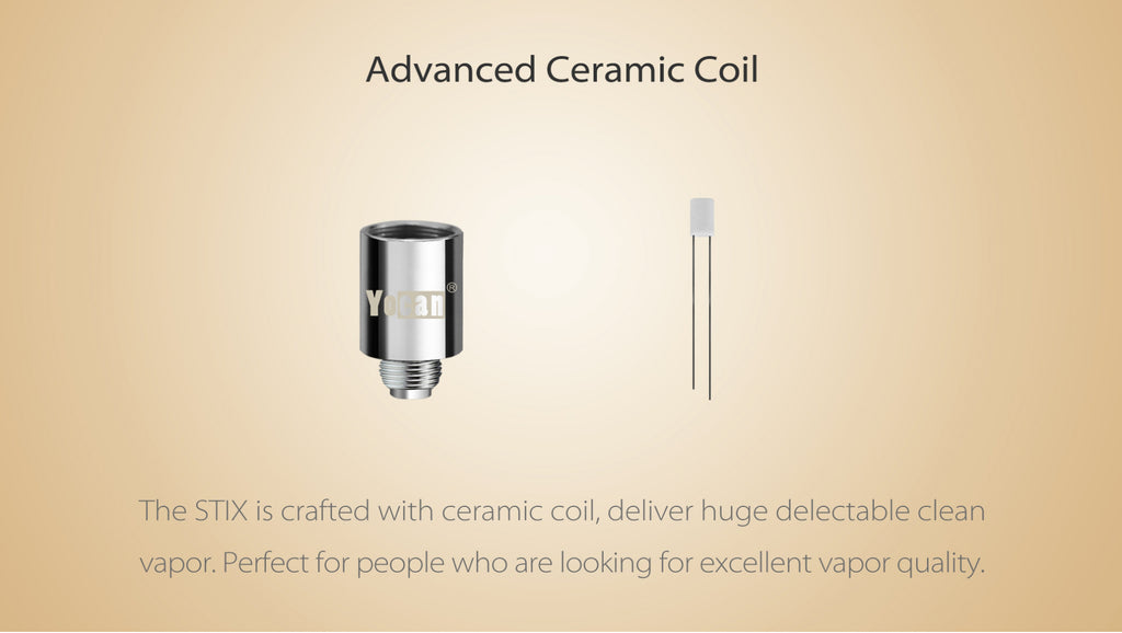 Yocan STIX Vape Pen Kit Advanced Ceramic Coil