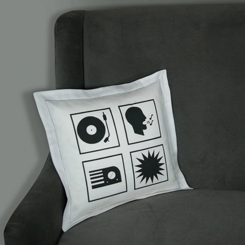 Audiophile Quad Pillow