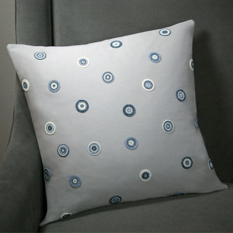 Solid Pebble Spotted Pillow