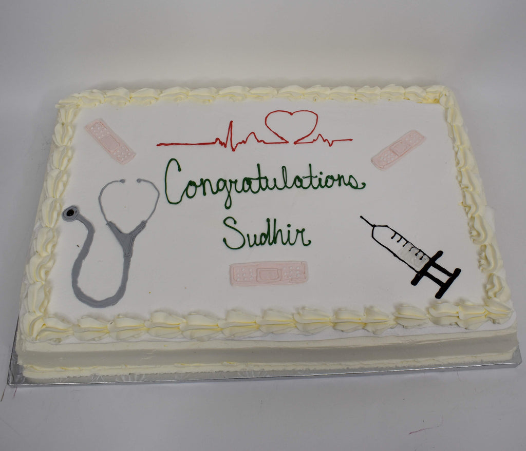 McArthur's Bakery Custom Cake With Medical Instruments