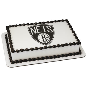 McArthur's Bakery Custom Cake with Brooklyn Nets Scan