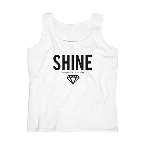 """Shine"" Women's Lightweight Tank Top"