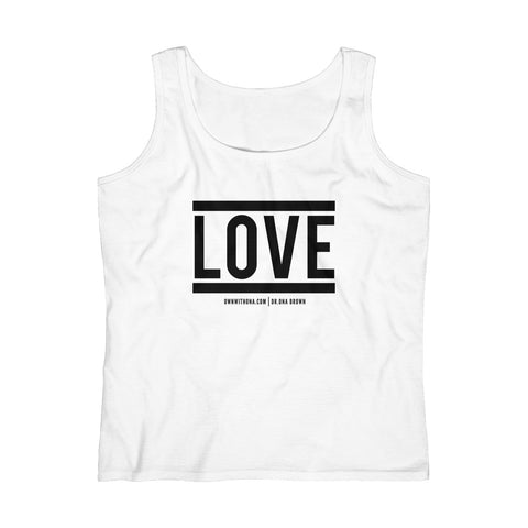 """LOVE"" Women's Lightweight Tank Top"