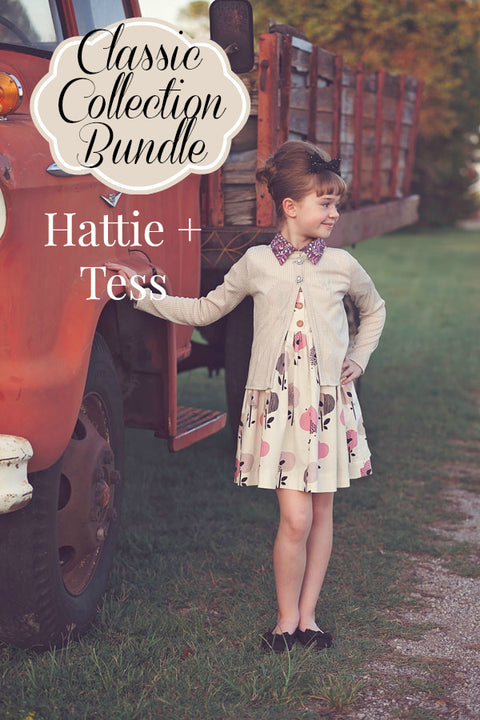 Classic Back to School: Hattie & Tess Bundle
