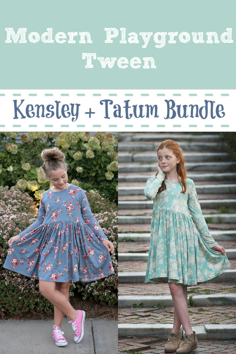 Modern Playground Tween: Kensley Tween and Tatum Tween Bundle