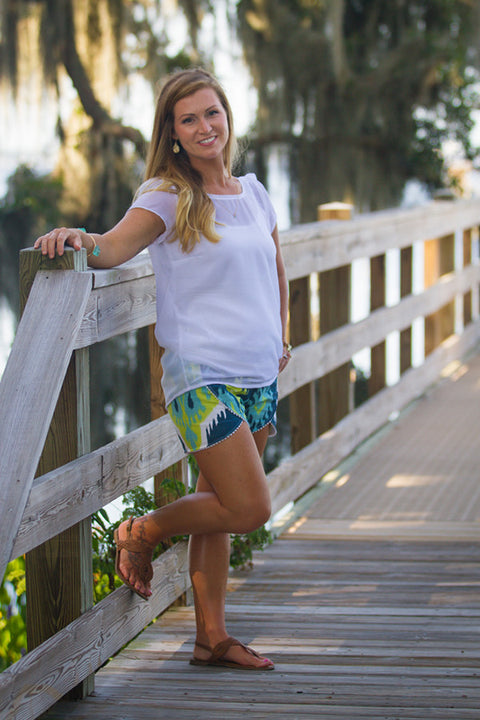 Lilly Misses Shorts - Violette Field Threads  - 1