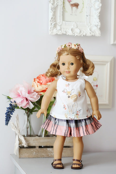 Berklee Doll Top and Shorts
