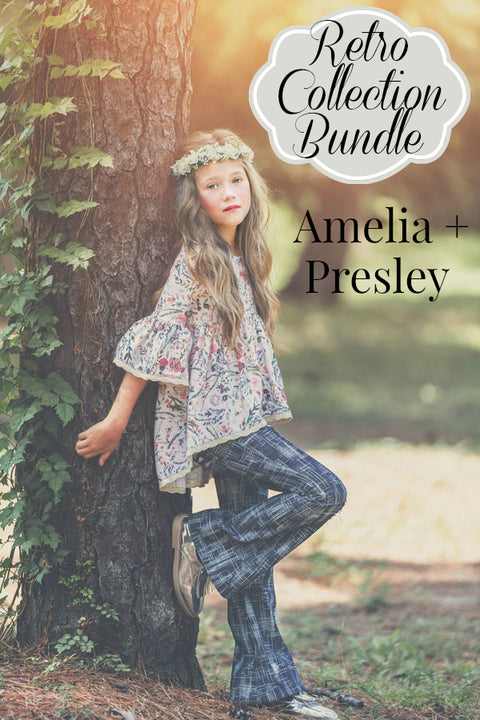 Retro Back To School Collection: Amelia & Presley