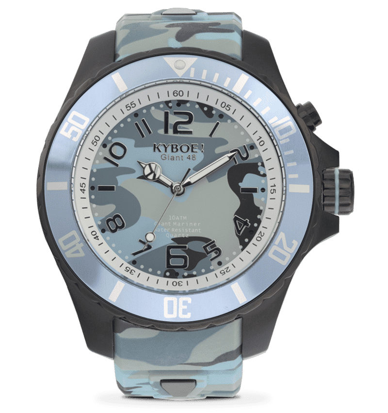 KYBOE CAMO COLLECTION WATCHES