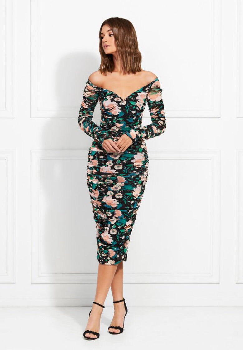 Louanne Floral Dress