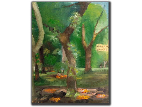 central park trees - scottbenites