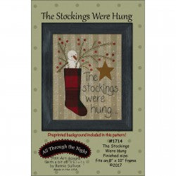 The Stockings Were Hung Panel