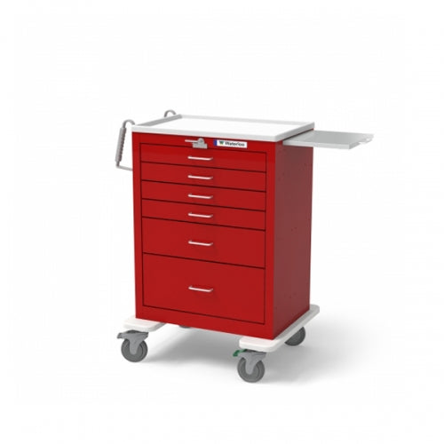 6-Drawer Tall Emergency Cart (UTRLU-333369-RED) - Didage