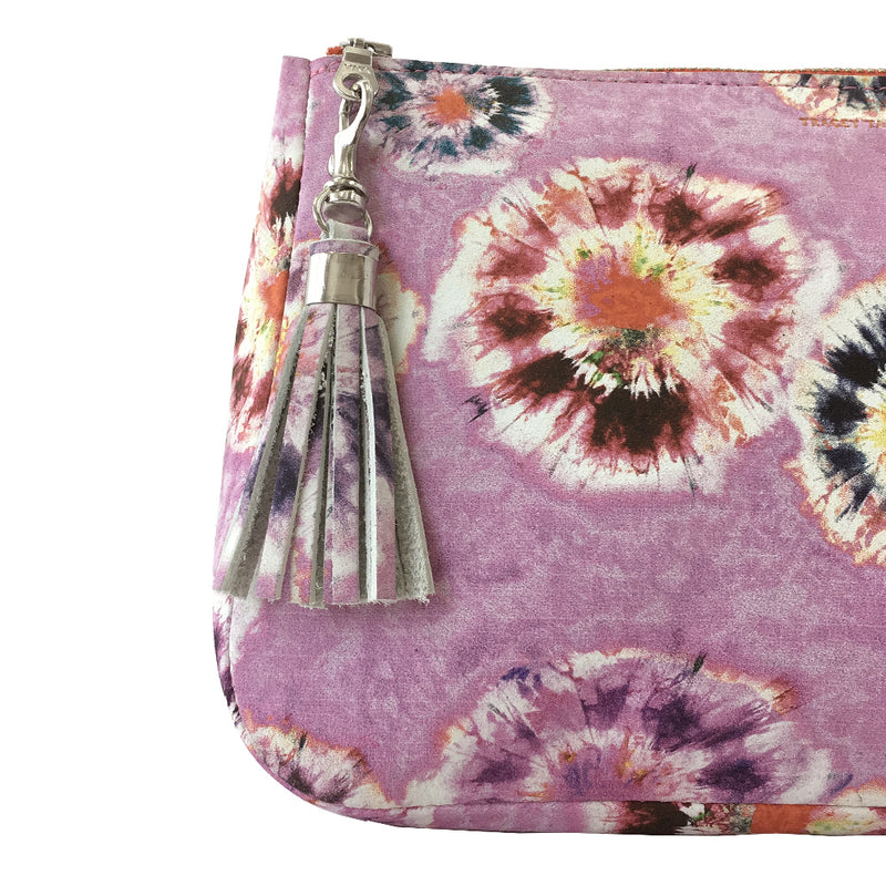 TIE DYE PINK SMALL SHOWN ON FATTY POUCH