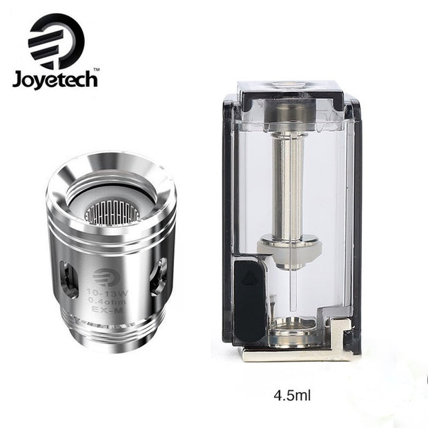 Joyetech Exceed Grip Replacement Cartridges With Coil  - 5PK - All Puffs