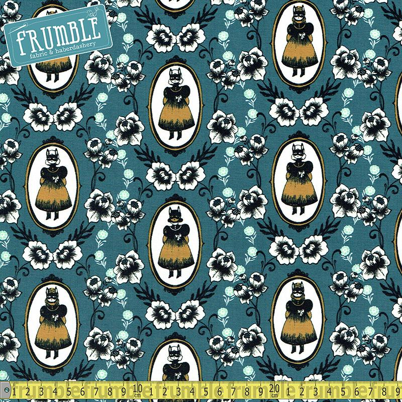 Boo - Ophelia Blue Fabric by Cotton + Steel