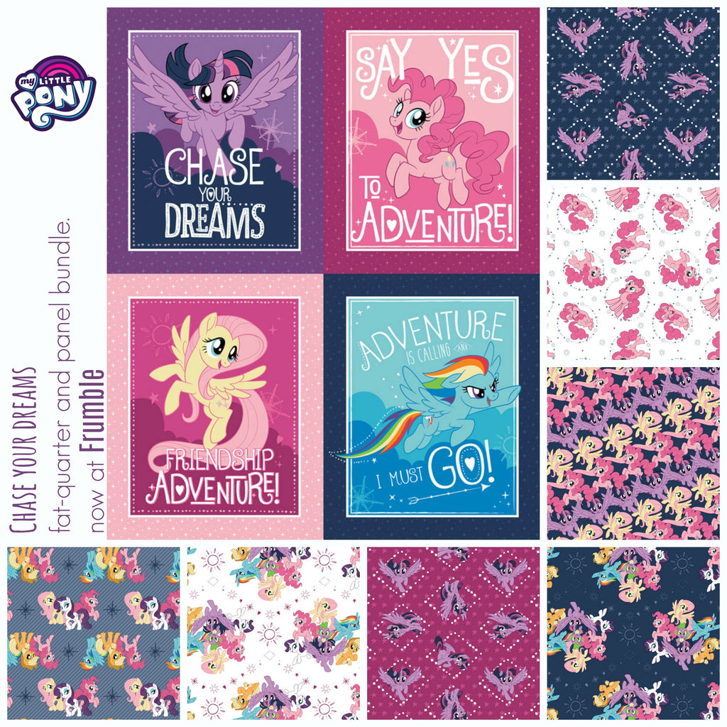 My Little Pony Chase Your Dreams FQ+Panel Bundle