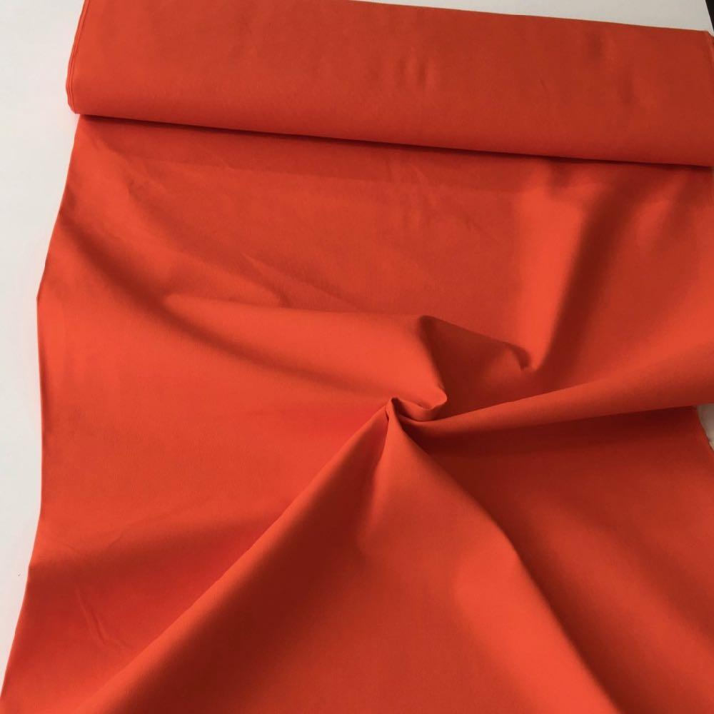 Cotton Canvas Solids Orange Fabric by Various