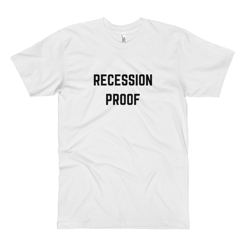 Recession Proof Tall Tee White