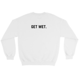 Champagne Showers Sweatshirt White