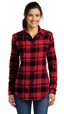 HAMH LW668 Ladies Port Authority Flannel