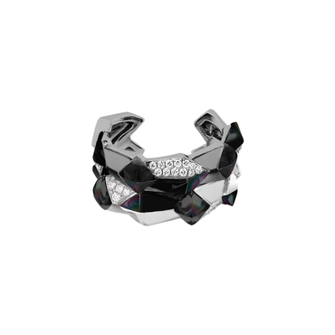 Edgy Double Ring (Semi-Diamond)