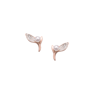 Ocean Kelp Studs (Full Diamond)