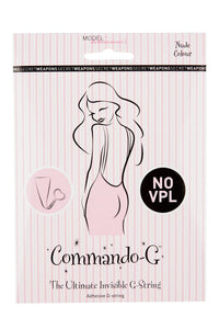 Commando G Invisible Underwear for under convertible wrap dress for bridesmaids