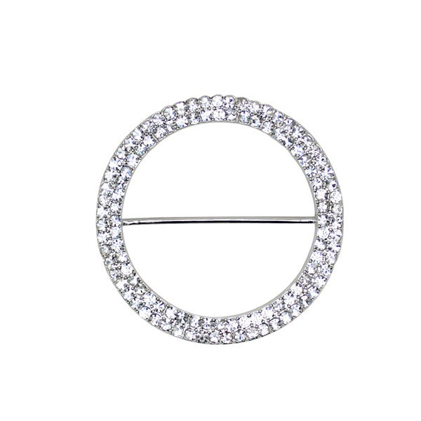 Silver Diamante Buckle for Bridesmaid convertible wrap dress or multi-way bridal gown