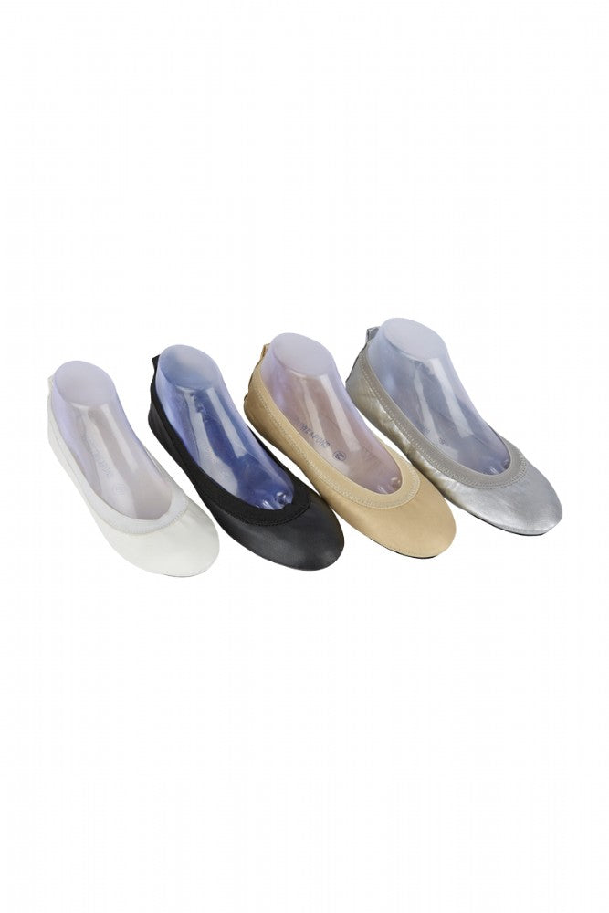 Fold Up Ballet Flats for Bridesmaids and Bride. Comfortable wedding shoes