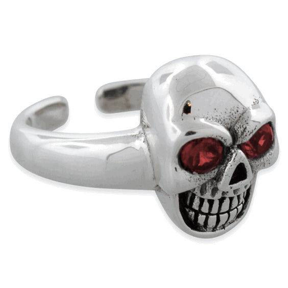 products/ladies-sterling-silver-plain-skull-adjustable-cz-ring-10.jpg