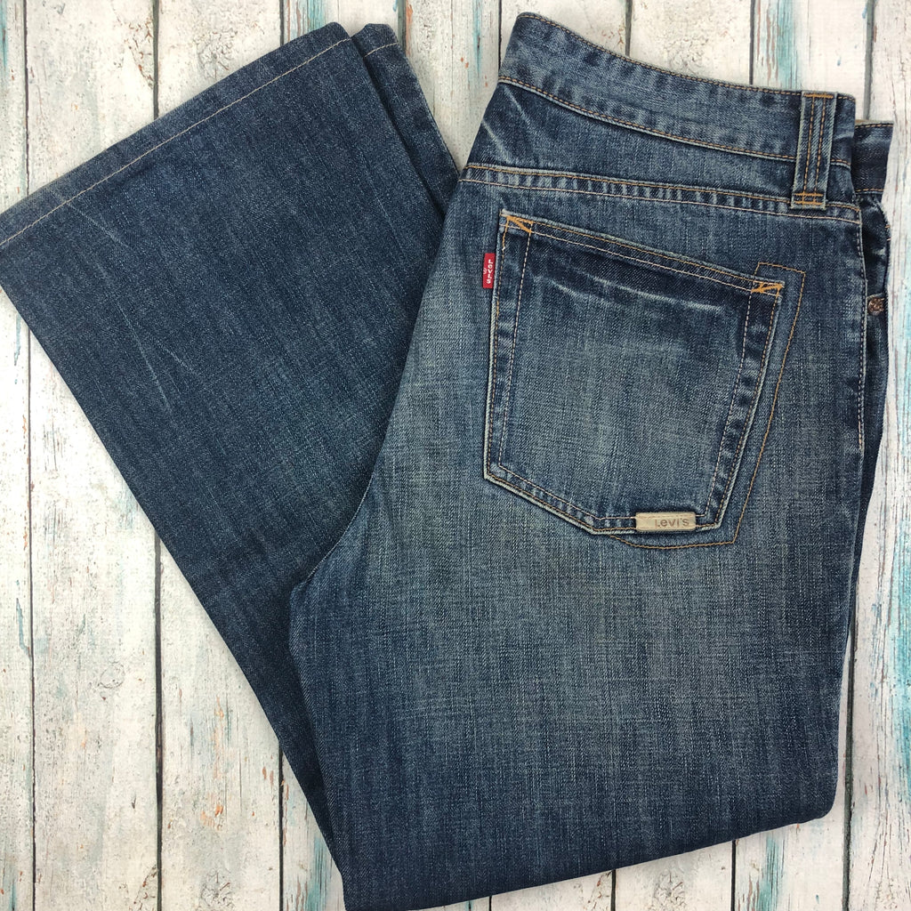 Levis Relaxed Easy Fit Men's 527's -Size 35