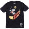 NBA Remix X Travis Scott Black T-Shirt Front