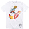 NBA Remix X Travis Scott White T-Shirt Front