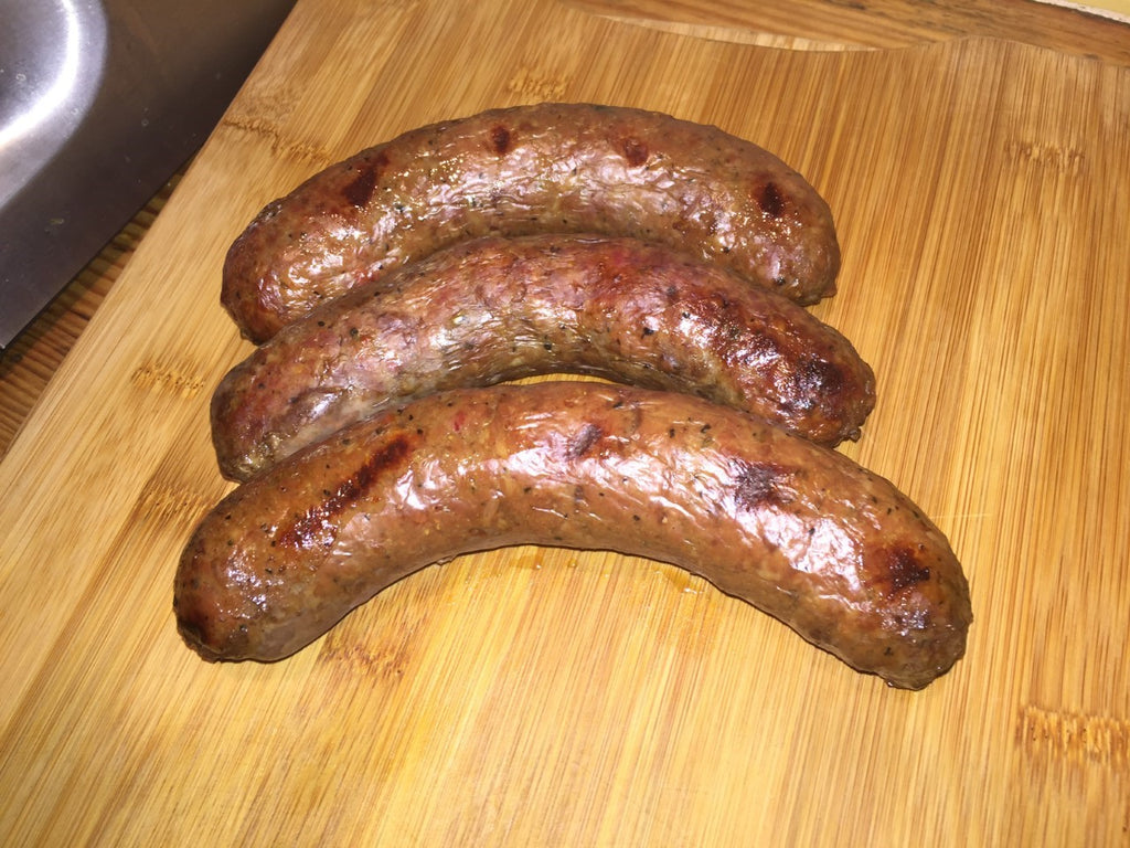 Steak & Liver Sausage, $16/lb