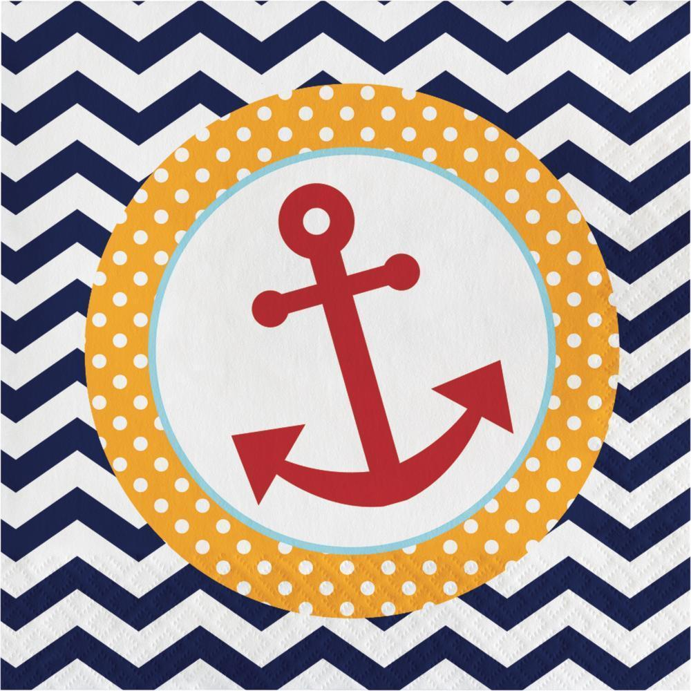 Ahoy Matey Baby Shower Tableware