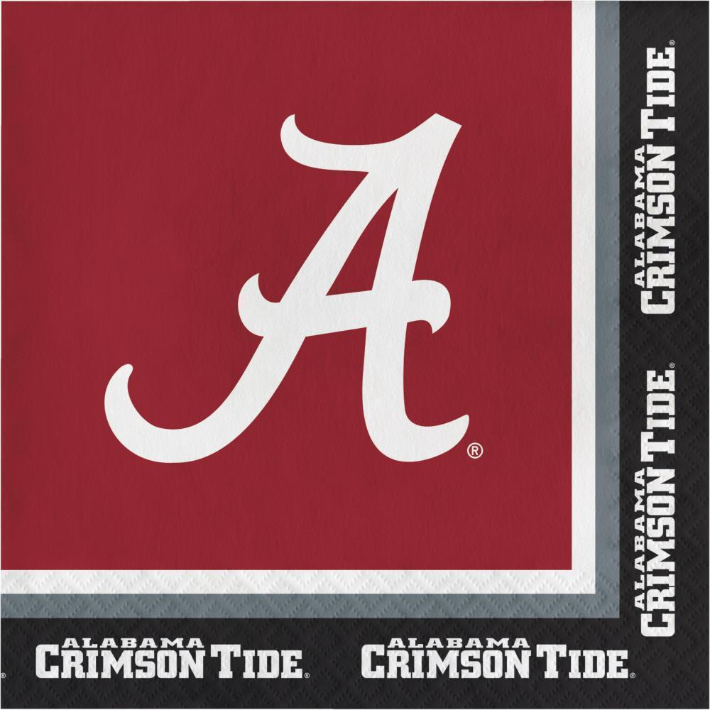 Alabama Crimson Tide Party Decorations